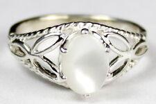 • SR137, Mother of Pearl, 925 Sterling Silver Ladies Ring -Handmade