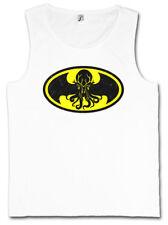 BATHULHU I TANK TOP FITNESS VEST Lovecraft Bruce Miskatonic Batman Wayne Cthulhu