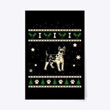 "Christmas American Cocker Spaniel Gift Poster - 24""x36"""