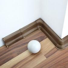 52mm PVC PRESTIGE OAK 2.5m SKIRTING BOARD & ACCESSORIES strip wall floor cover