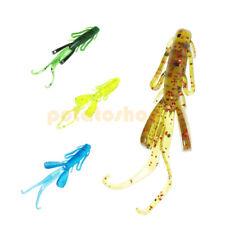 20 X 3cm Soft Lure Fishing Swimbaits Craws Shrimp Creature Worm Jig Head Rig