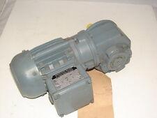 EBERHARD BAUER D-7300 SG1-S27DK54-143L-AS7M GEAR MOTOR .39A 1600RPM **NNB**