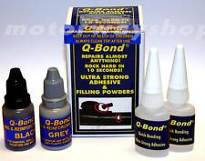 Q BOND RIPARAZIONE KIT PICCOLO ROCK HARD in 10 secondi NUOVO con scatola qbond Q-Bond