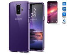 Funda TPU LISA Morada Samsung Galaxy S9 Plus (6.2) + PROTECTOR VIDRIO TEMPLADO