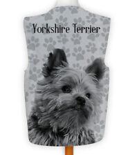 Novelty Gilet Fun Fancy Dress Wacky Dog show Yorkshire Terrier Paw Print