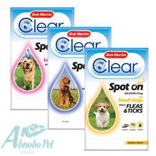 Bob Martin Clear Perro mancha en la prevención de matar pulgas & garrapatas & contiene Fipronil