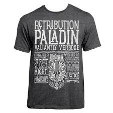 World of Warcraft / RPG inspired RETRIBUTION PALADIN T-shirt - Unisex / Mens