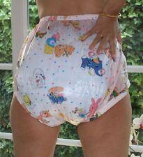 BUENO PVC Pañal Para Incontinencia Pantalón de goma rosa Kid