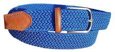 Cintura intrecciata Elastica 3,5 cm in 14 varianti colore