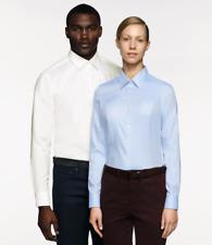 HAKRO Herren Hemd  langarm klassische Hemden Businiss weiss blau Oxford 119