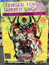 English Dub ~ Tengen Toppa Gurren Lagann (VOL.1 - 27 End + 2 Movie) ~ 3-DVD SET