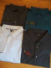 NWT $54. MSRP,   Mens 100% Cotton APT. 9 Long Sleeve Dress Shirt