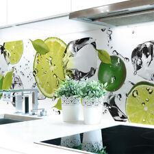 Küchenrückwand Limetten Eiswasser Premium Hart-PVC 0,4 mm selbstklebend