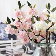 Artificial Fake Cherry Blossom Silk Flowers Bridal Hydrangea Garden Home Decor