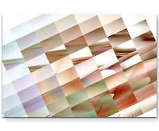 Abstraktes Bild – Vierecke in verschiedenen Farben - Leinwandbild