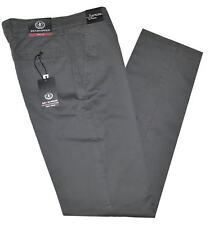 Pantalone uomo taglia 46 48 50 52 54 56 58 60 cotone elasticizzato grigio RAY
