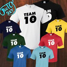 New Kids-Adult TEAM 10 T-shirt Logan Paul Jake Paul, Youtube Must Have Sensation