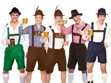 hombre bávaro CHICO Cerveza Oktoberfest Disfraz DISFRAZ ALEMÁN Lederhose NUEVO