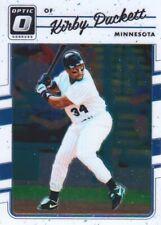 2017 Donruss Optic Baseball #160 Kirby Puckett Minnesota Twins