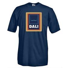 Maglia J208 Dali Salvator Dali, Art Moustache, arte contemporanea T-shirt 100%