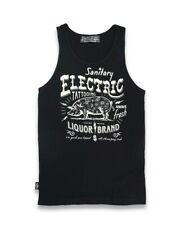 LCR brand Electric Pig retro hombres tatuaje Tank Top