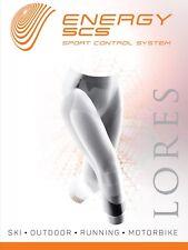Lores energía de lujo para mujer Super Suave Sport Leggings Sin Costuras Control
