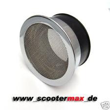 Sportluftfilter Luftfilter G1 Chrom AW 58-62 für z.B. Mikuni TMX 38 Keihin PWK33