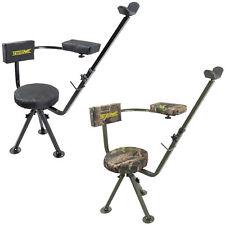 Nitehawk 360 Swivel Deluxe Shooting Hunting Chair Padded Gun/Rifle Rest