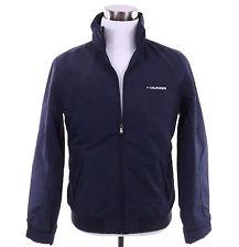 Tommy Hilfiger Men Logo Yacht Rain Wind Full Zip Jacket Outer Coat -Free $0 Ship