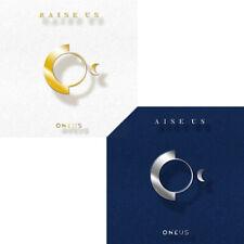 ONEUS [RAISE US] 2nd Mini Album 2 Ver SET+POSTER+2Book+16Lyrics+2Post Card+2Card