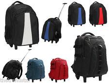 Mens Unisex Backpack Rucksack Shoulder Bag Faux Leather School Laptop Bag New