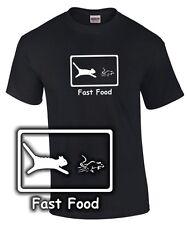 FUN T-Shirt * Katzenfutter Food * Cat Mouse Katze Maus Mausefalle