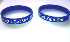 Tracht Gut Vet Zein Gut silicone bracelet FREE USA SHIPPING