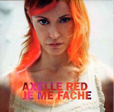 CD CARTONNE CARDSLEEVE 3T AXELLE RED JE ME FACHE DE 2002 TBE