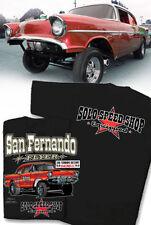 Solo Speed Shop 1957 Chevrolet Gasser T-Shirt - San Fernando Dragstrip Raceway