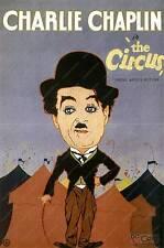 El circo, Chalie Chaplin Vintage Movie Poster Publicitario reproducción