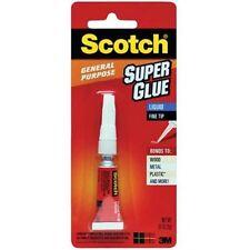 36 Packs Scotch Super Glue 3M General Purpose .07oz (2g) Tube