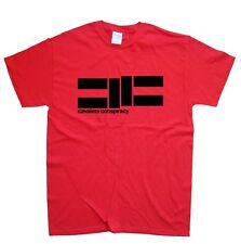 CAVALERA CONSPIRACY T-SHIRT sizes S M L XL XXL colours Black, Red