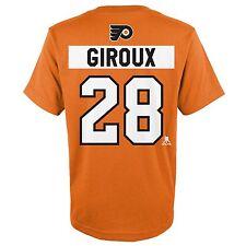 Philadelphia Flyers NHL Men's GIROUX  #28 Orange Player T-Shirt/Jersey: L-XL
