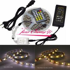 2 in 1 Double Color CCT led strip 5050 DC12V + LED controller+12v 5A LED power