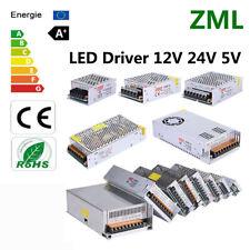 LED Driver DC 12V 24V 10A 15A 20A 25A 30A Transformer Power Supply Strip Lamps