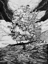 Studio Ghibli-Howl 's Moving Castle Anime cartel impresión * A4 A3 A2 A1 a 0 * T597