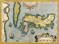 ART PRINT POSTER MAPS OLD VINTAGE HUNGARY WOLFGANG LAZIUS AUSTRIAN LFMP0853