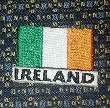 "IRELAND FLAG Iron or Sew-On 1.75"" X 1.25"""