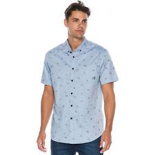 Billabong Men Metric Shirt Short Sleeve Large M501FMET