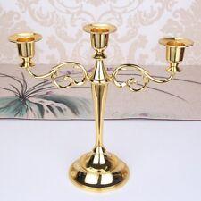 3/5 bras métal candélabre Vintage Bougeoir Marriage décor maison chandeliers