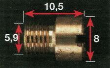 Mikuni - Gicleur principal MKE de 37,5 à 170 (ref: MKExxx)