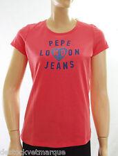 PEPE JEANS tee shirt femme RENEE CORAL rose