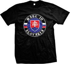 Made In Slovakia Slovak Republic Slovenská Republika Slovensko Mens T-shirt