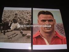 LIVERPOOL FC LEGEND BILLY LIDDELL SIGNED (PRINTED) PHOTOGRAPHS